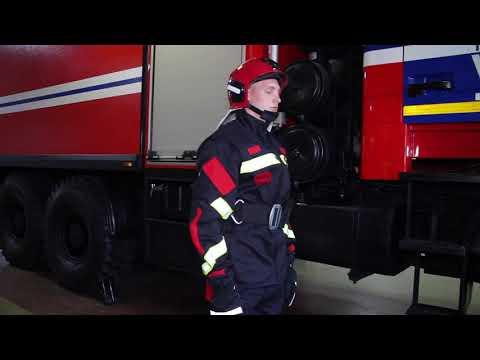 Специальная одежда спасателя-пожарного (Новая разработка НИИ ПБиЧС)