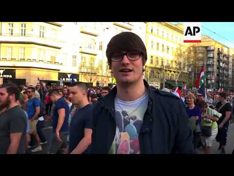 Pro-opposition rally held in Budapest a week after Orban's election win