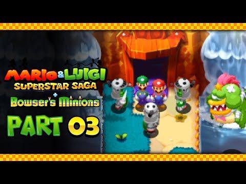 Mario & Luigi: Superstar Saga + Bowser's Minions - Part 3: The Hoohoo Mountain Trial!