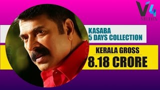 kasaba collection report 5 days   the fifth day collection report of the movie kasaba  കസബ review