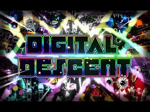 Digital Descent (Extreme Demon) - by ViPriN & more [ON STREAM] | Geometry Dash 2.1