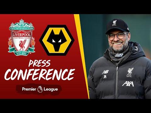 Jürgen Klopp's pre-match press conference | Wolves
