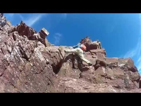 Maroon Bells - Climbing North Maroon Peak Colorado 14er - Watch in HD
