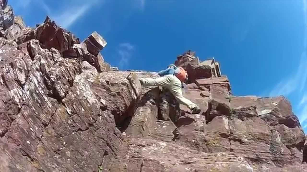 Maroon Bells - Climbing North Maroon Peak Colorado 14er - Watch in ... 176c602d0