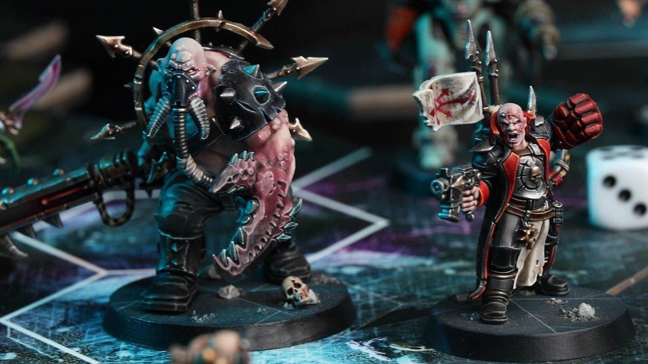 Warhammer Quest Blackstone Fortress 40K Obsidius Mallex Chaos Lord