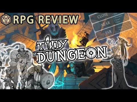 ⚔️ Tiny Dungeon Might Be The Most Rules-light RPG You Ever Play ⚔️ RPG Review & Mechanics