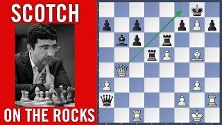 Scotch on the rocks - Tomczak vs Kramnik   Chess Olympiad 2018 Batumi