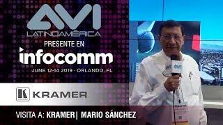 Visita a Kramer durante  InfoComm Orlando 2019