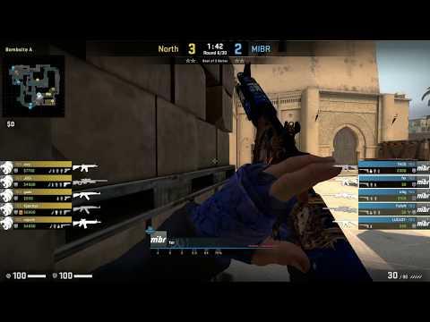 CS:GO POV Demo MIBR Fer (27/11) Vs North (de_mirage)