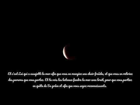 Eclipse Lune Algerie 2018 -  Coran Sourate Les Abeilles
