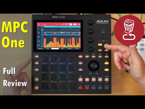 AKAI MPC ONE: Review and full workflow tutorial // Comparison to MPC Live
