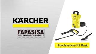 Hidrolavadora línea hogar K2 Basic - Kärcher FAPASISA Paraguay