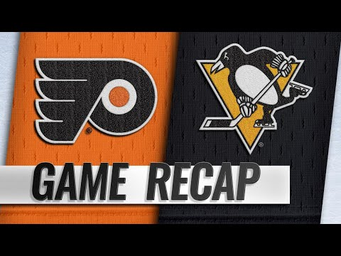 Flyers rally late to top Penguins in OT, 2-1