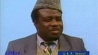 English Mulaqaat (Meeting) on January 7, 1996 with Hazrat Mirza Tahir Ahmad (rh)