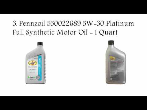 Top 5 Best Synthetic Oil Reviews Best Synthetic Motor Oil