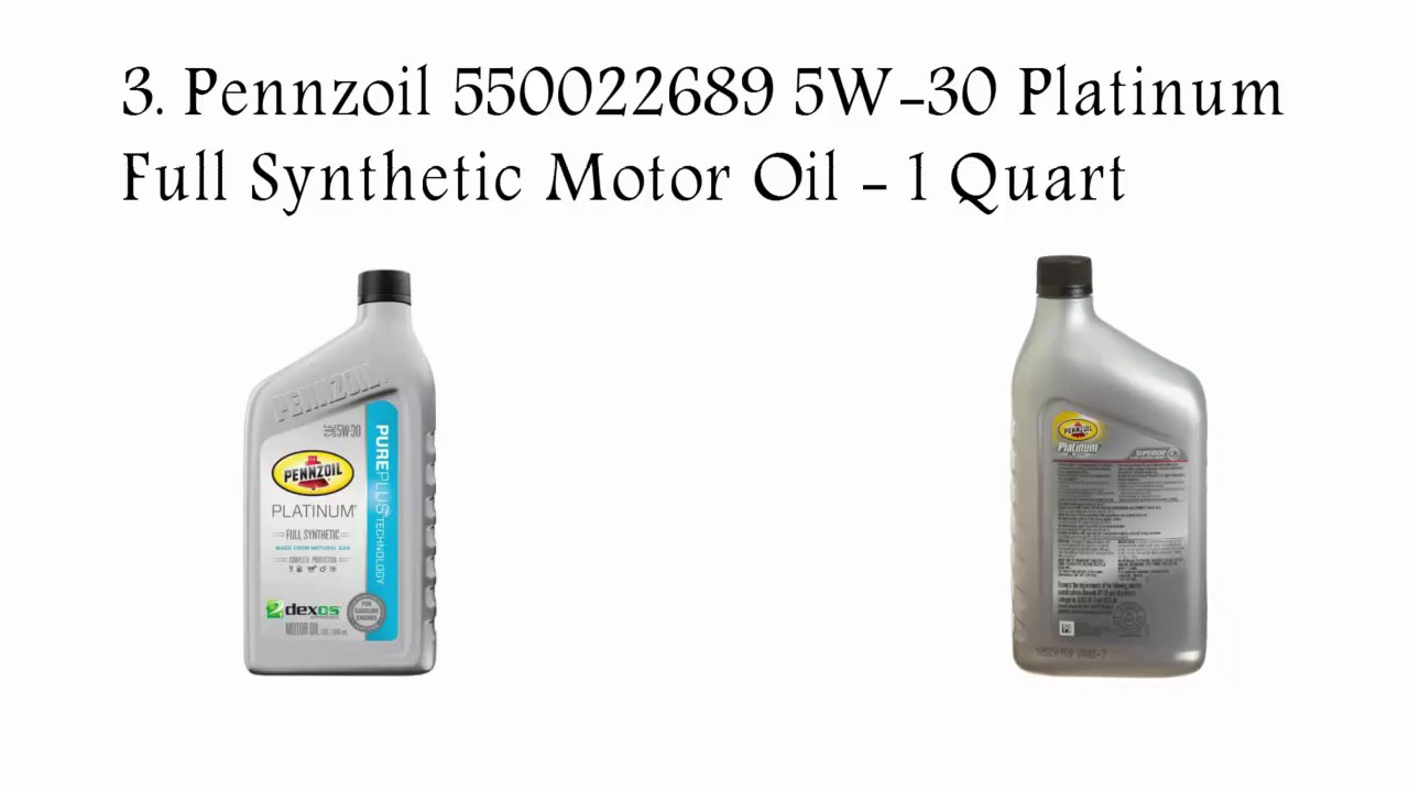 Top 5 best synthetic oil reviews best synthetic motor oil for Best non synthetic motor oil