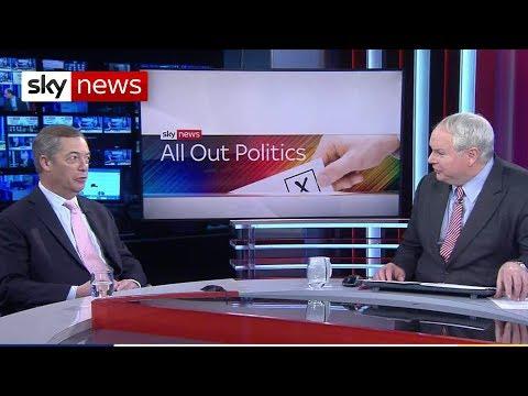 Ex-UKIP leader Nigel Farage announces his return