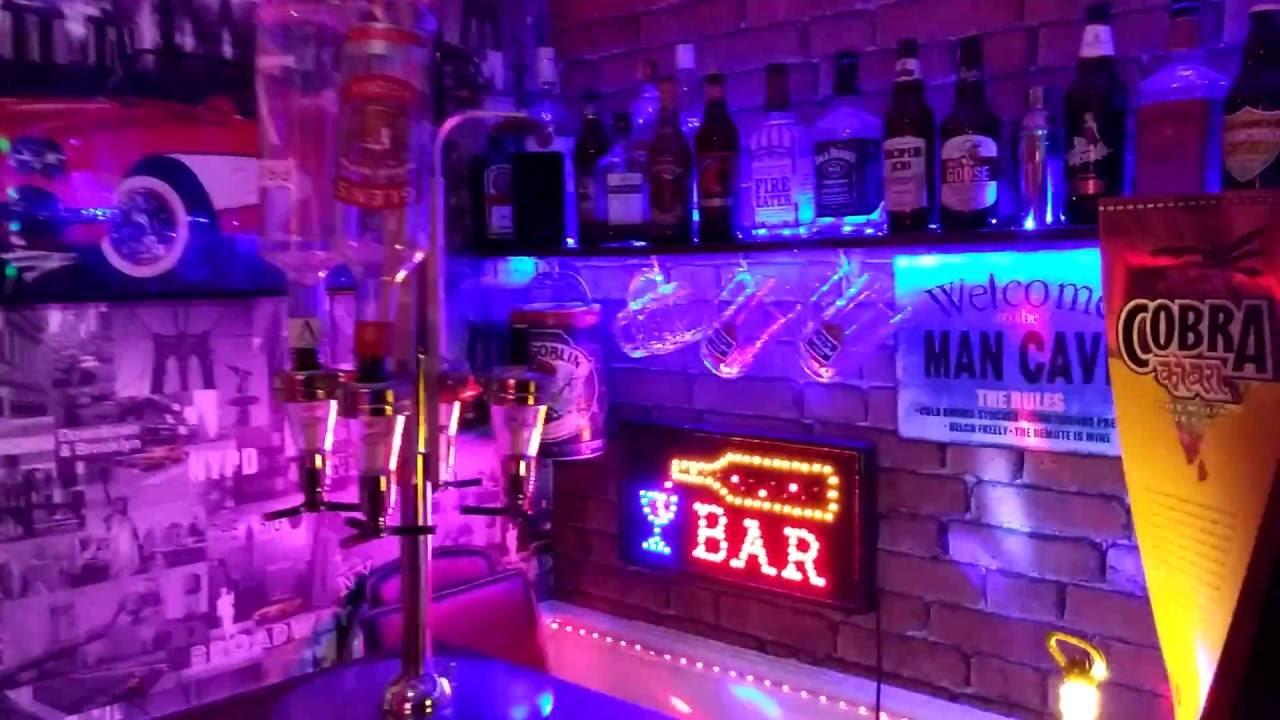 Man Cave Bar Games Book : Bar room disco leds games man cave fruit machines
