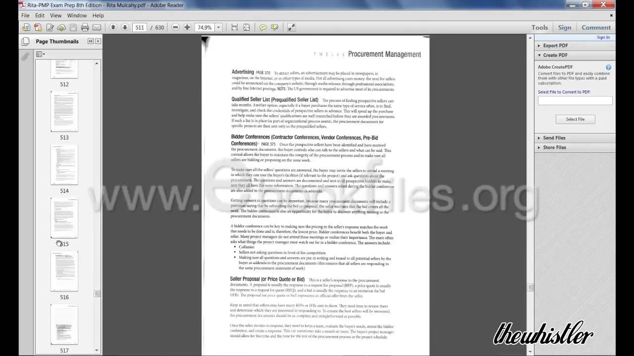 Pmp exam prep 2013 8th edition pdf rita mulcahy youtube xflitez Gallery