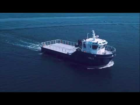 20 m Custom Fish Farm Service and Supply Vessel