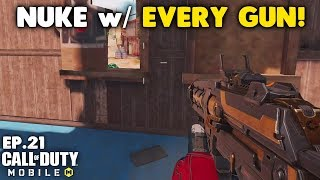 Nuke With Every Gun In Call Of Duty Mobile - Hg 40 Smg