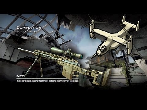Modern Warfare 3: Sniper Osprey Ownage on NEW MAP Black Box