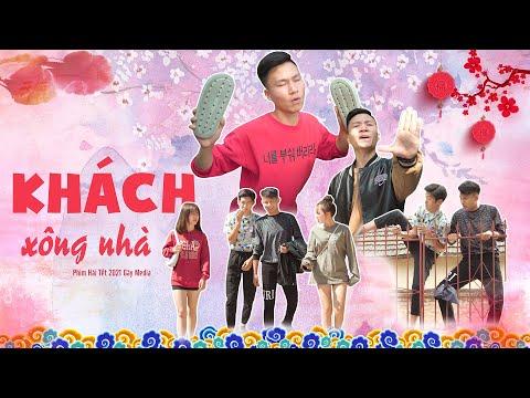 KHÁCH XÔNG NHÀ | Tập Đặc Biệt Hài Tết 2021 | Phim Hài Hước Hay Nhất Gãy TV