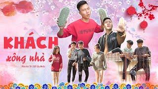 KHÁCH XÔNG NHÀ   Tập Đặc Biệt Hài Tết 2021   Phim Hài Hước Hay Nhất Gãy TV