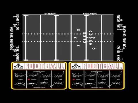Atari Football Arcade Atari 1978 Youtube