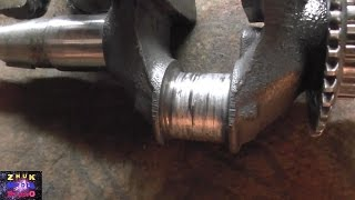видео Ручной стартер на двигатель Honda GC 160