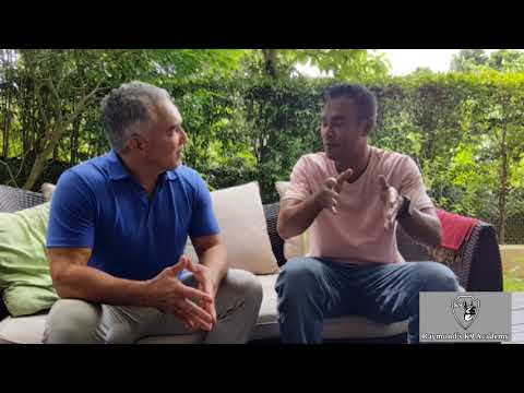 Cesar Millan with Rattana Hin from Cambodia