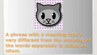 The cat's out of the bag! - Idiom Guessing Game