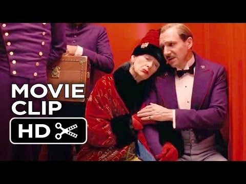 The Grand Budapest Hotel Movie CLIP - I'm Not Leaving (2014) - Ralph Fiennes Movie HD streaming vf