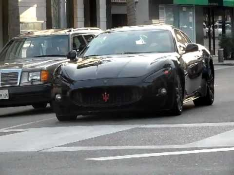 Blacked Out Maserati Granturismo Mc Sportline