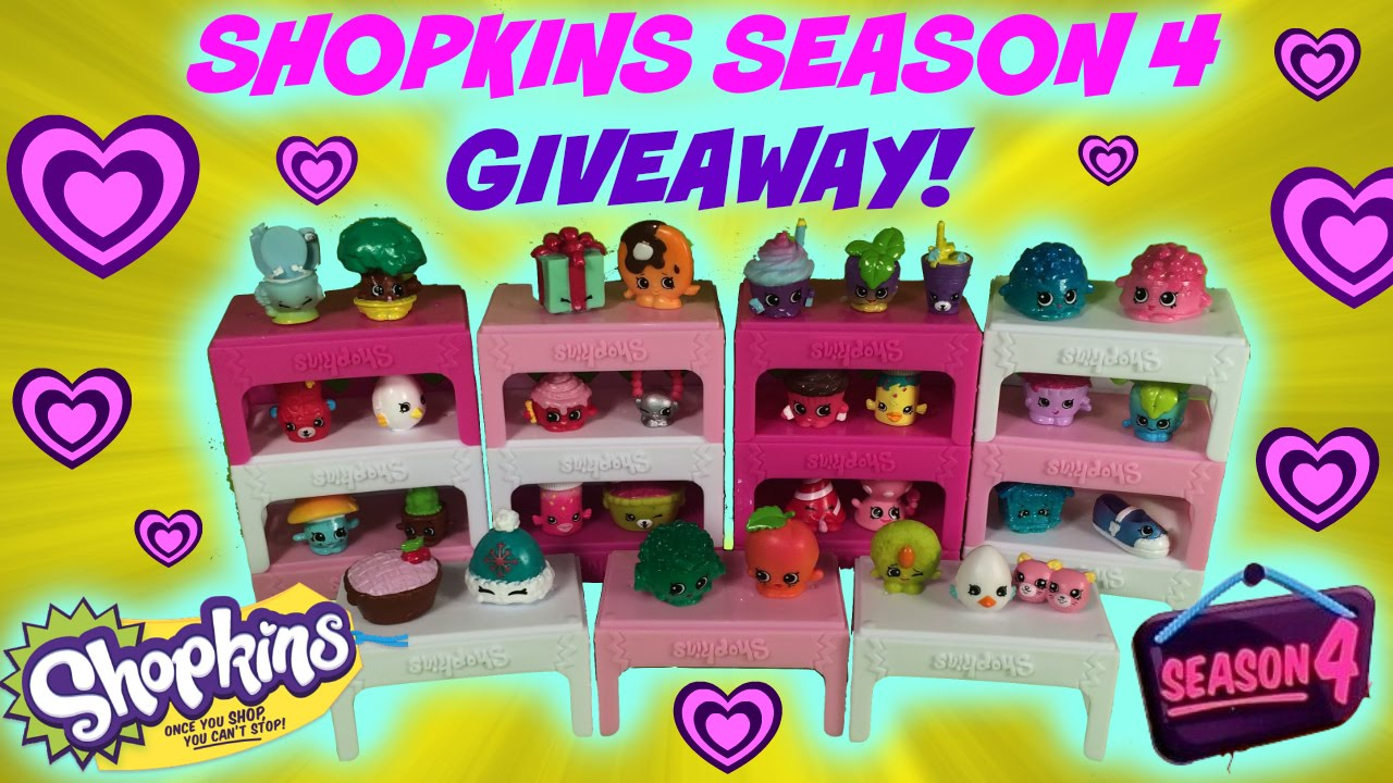 Another Try At Slark Ultra Rare: SHOPKINS SEASON 4 GIVEAWAY