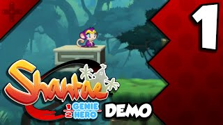 Shantae: Half-Genie Hero DEMO - PART 1 - Monkey!