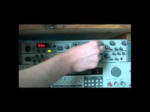 Akai MFC42 Analogue Filter Demo