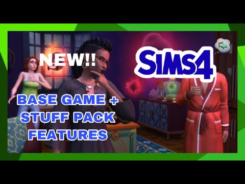 THE SIMS 4 PARANORMAL STUFF PACK FEATURES!! |