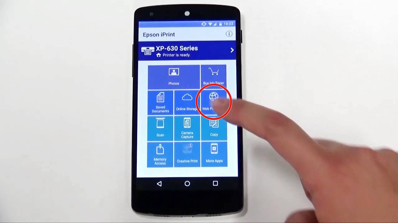How to Use Epson iPrint ver.6 with Mobile/Smart Devices ...