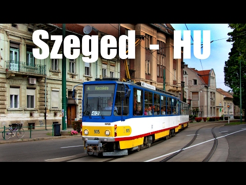 SZEGED TRAM - Straßenbahn in Szeged (29.-31.05.2014)