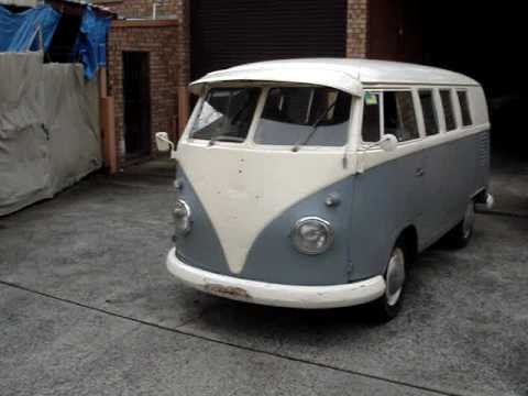 1961 splitty screen wv kombi youtube. Black Bedroom Furniture Sets. Home Design Ideas