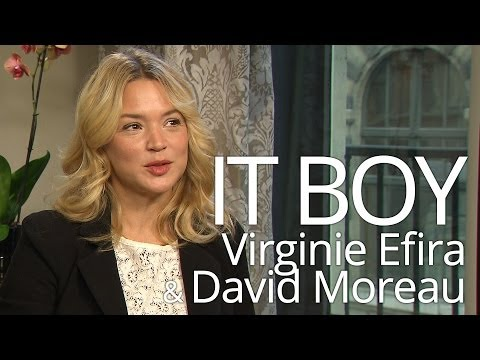 IT BOY: Interview of Virginie Efira and David Moreau - AF French FIlm Festival NZ 2014
