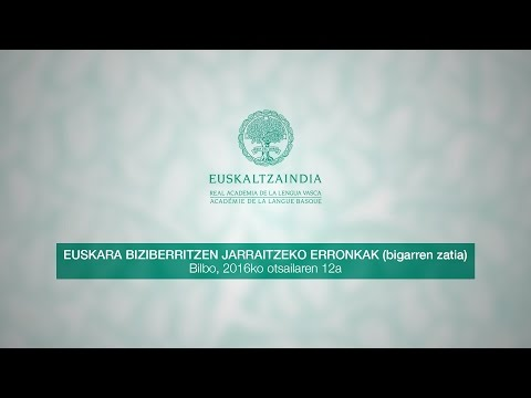 Euskara Biziberritzen jarraitzeko erronkak (bigarren zatia)