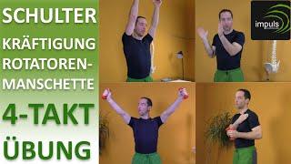 """Schulter - Kräftigung Rotatorenmanschette """"Die 4-Takt-Übung"""""""