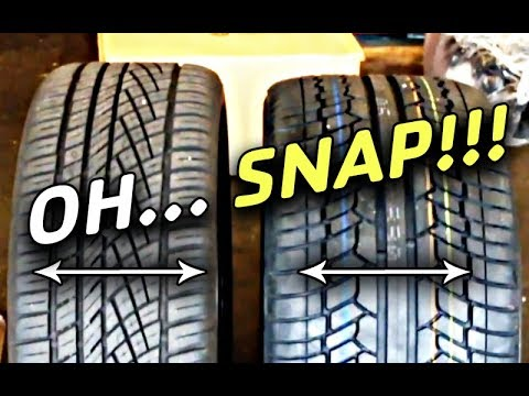 275 Vs 315 Tires Side By Side Need Spacers Youtube