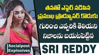 Sri Reddy Explains How She Was Abused | Sri Red...