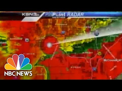 Raw: Tornado Hits TV Station, Weatherman Takes Cover | Archives | NBC News