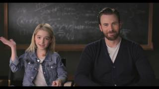 "GIFTED Movie Moment ""Kitchen"" - Introduction by Chris Evans & Mckenna Grace"