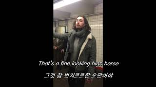 Hozier-Take me to church (Pop up show in NYC sub) 영어가사/한글가사/해석