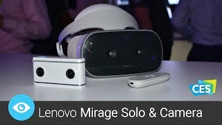 Vyzkoušeli jsme skvělou virtuální realitu Lenovo Mirage (CES 2018)
